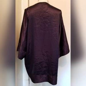 Victoria's Secret Intimates & Sleepwear - Victoria's Secret Vintage Dark Blue Robe Silk